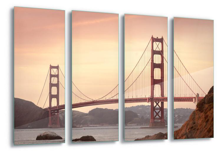 Cuadro en vidrio  Golden Gate