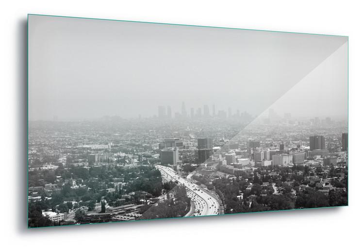 Cuadro en vidrio  LA
