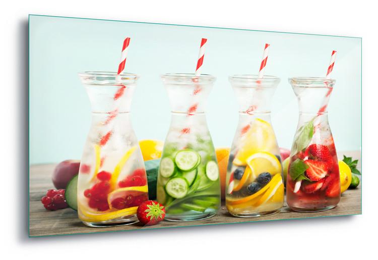 Cuadro en vidrio  Refreshing