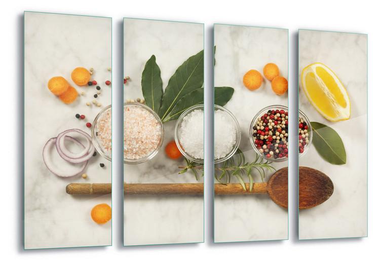 Cuadro en vidrio Seasoning