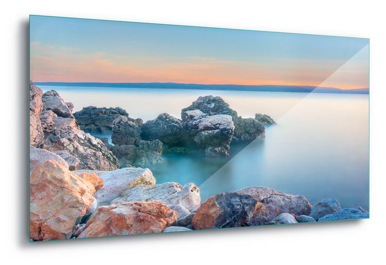 Cuadro en vidrio  Soft Sea