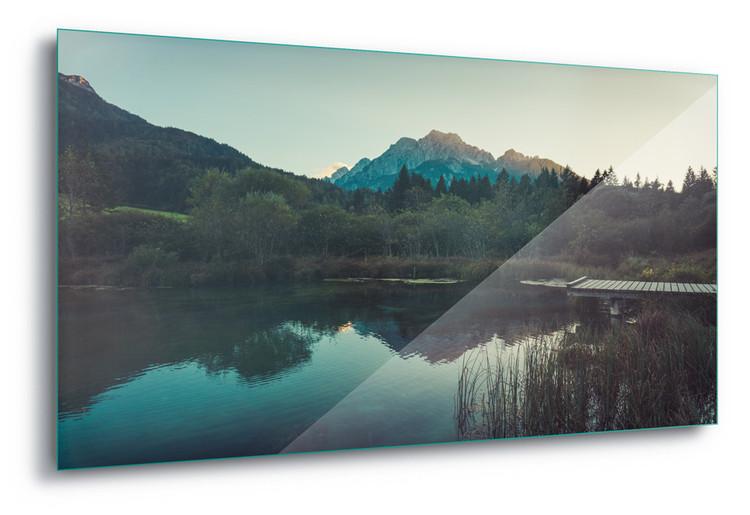 Cuadro en vidrio  Sunset Reflections