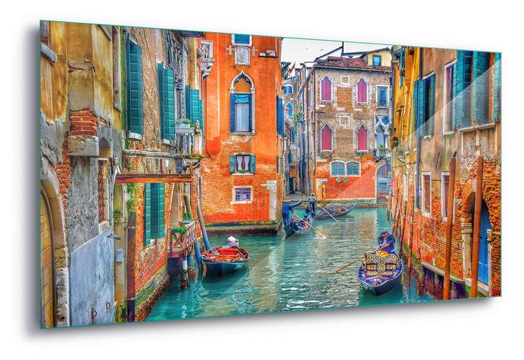 Cuadro en vidrio  Venice Colours