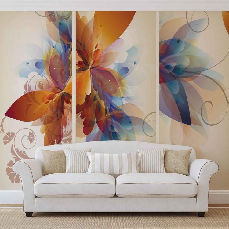 Fototapeta Abstraktní květ