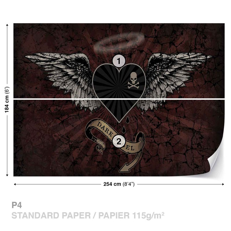 Fototapeta Alchemy srdce Dark Angle Tetování