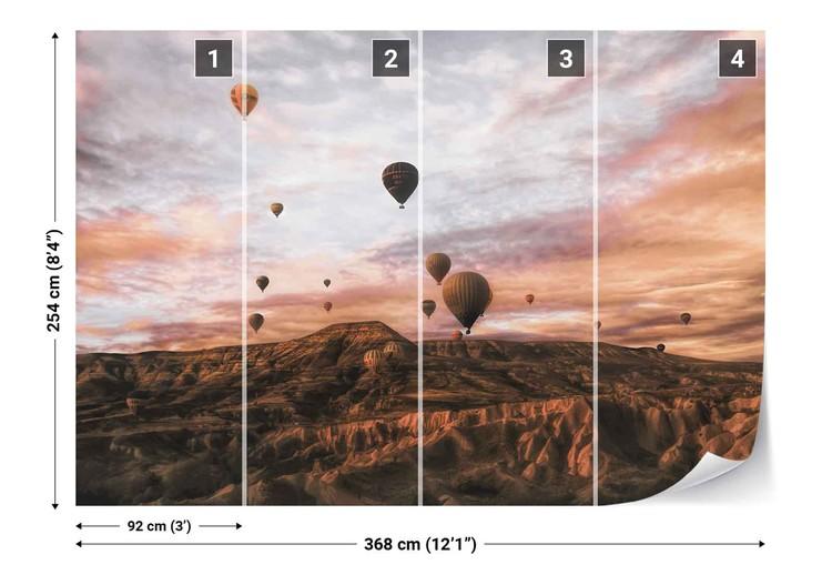 Fototapeta Cappodocia Hot Air Balloon