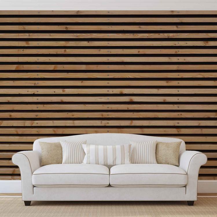Drewniane listwy Fototapeta