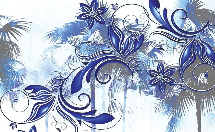 Fototapeta Květiny Abstraktní umění