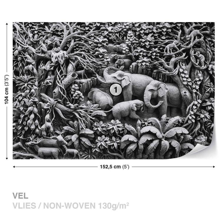 Fototapeta Sloni v džungli
