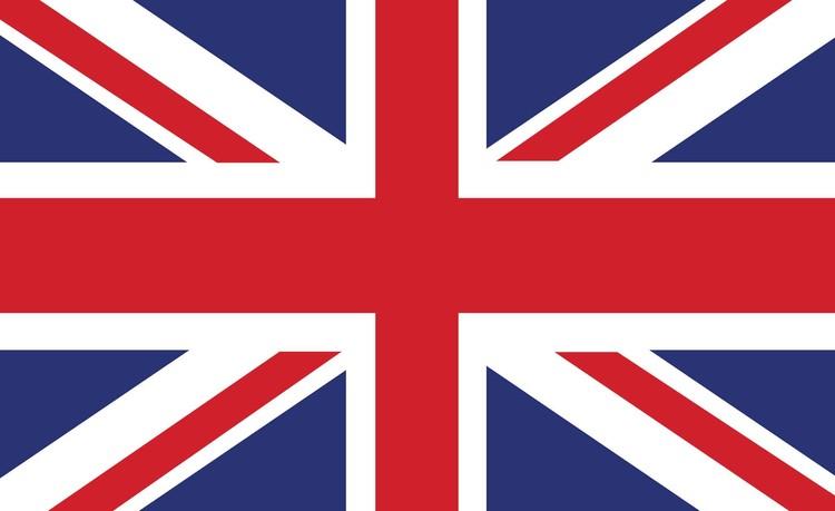 Fototapeta Vlajka Velké Británie