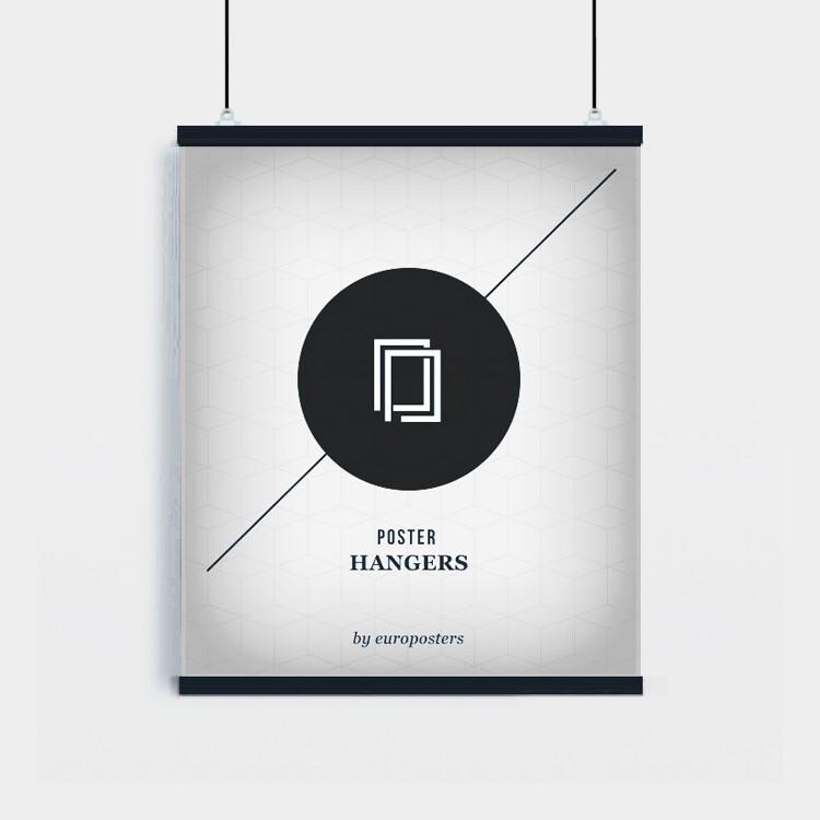 Perchas para pósteres - 2 piezas