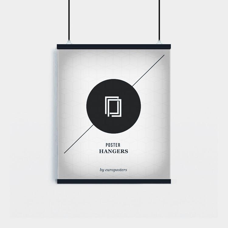 Plastové lišty na plagáty - 2ks