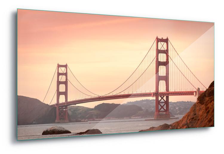 Skleněný Obraz Golden Gate