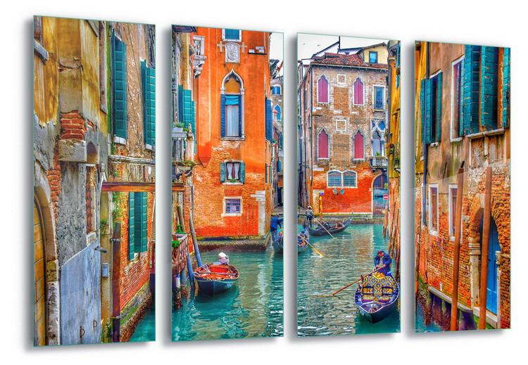 Skleněný Obraz  Venice Colours