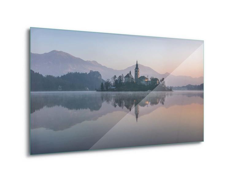 Evening Reflections Staklena slika