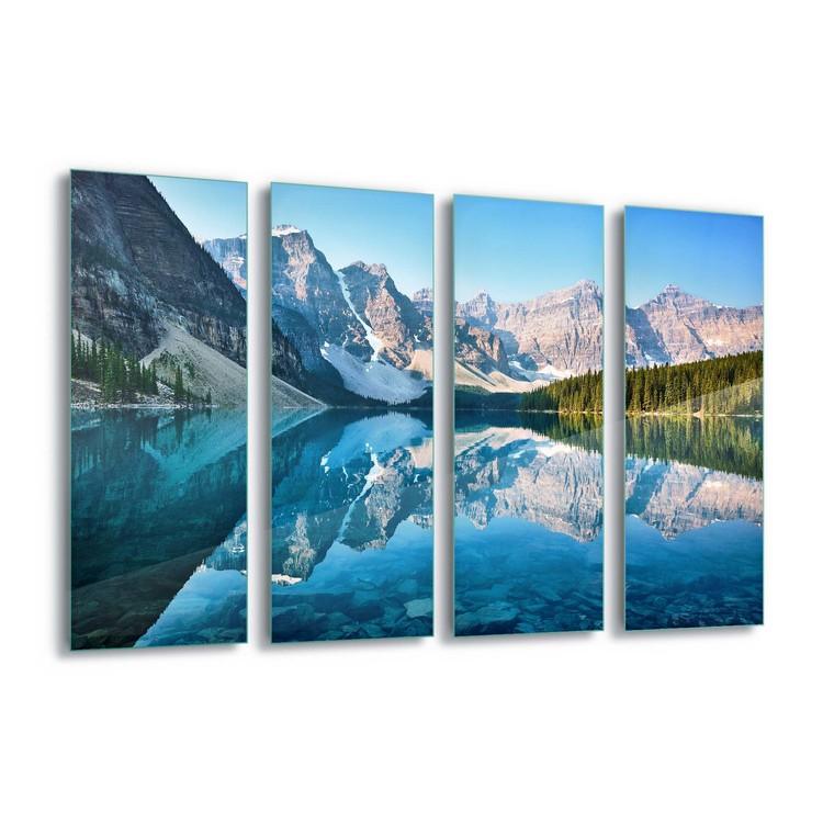 Mountain Mirror Staklena slika