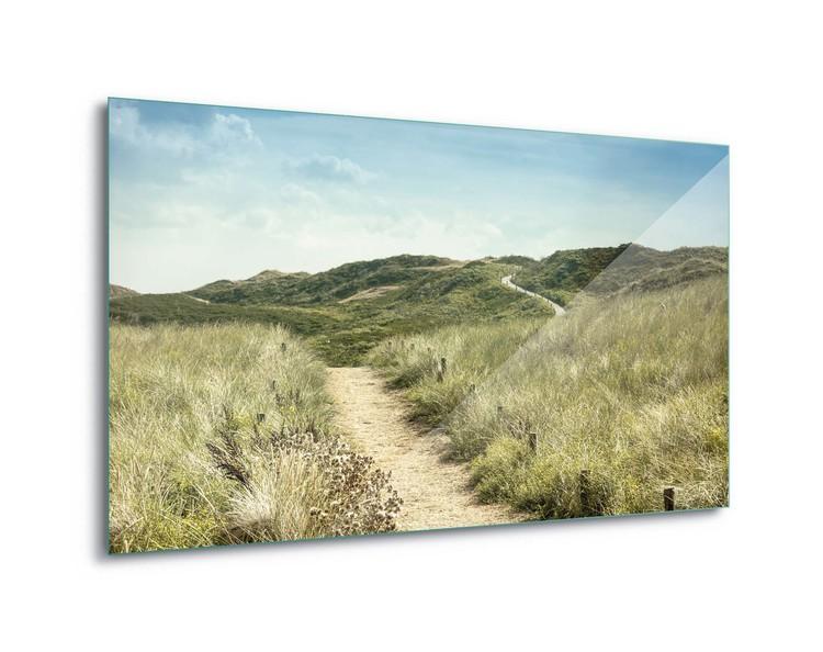 The Path To Summer Staklena slika