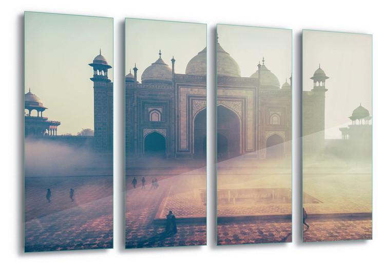 Szklany obraz Temple Mist
