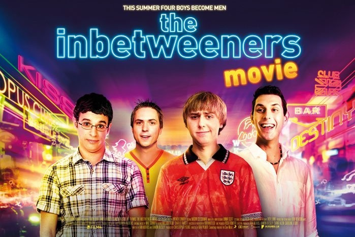 Αφίσα  INBETWEENERS