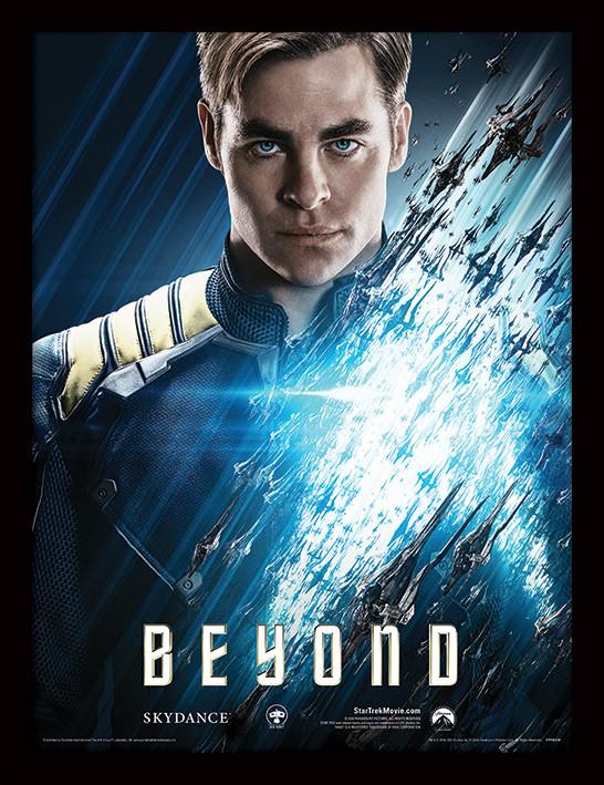 Star Trek Beyond - Kirk indrammet plakat