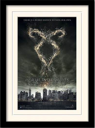 THE MORTAL INSTRUMENTS : DÆMONERNES BY – rune  indrammet plakat