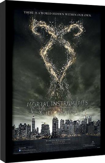 THE MORTAL INSTRUMENTS : DÆMONERNES BY – rune  indrammet plakat