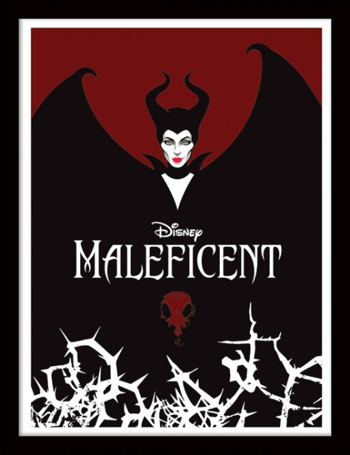 Maleficent - Wings Indrammet plakat
