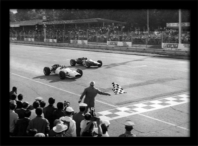 Monaco - 10 Indrammet plakat