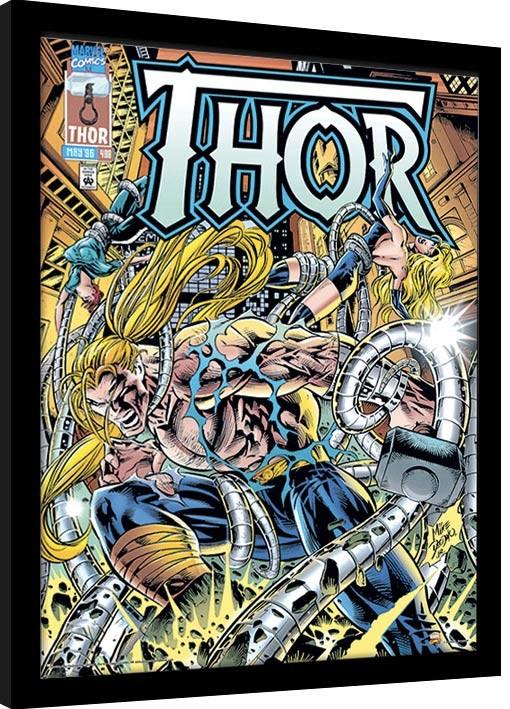 Marvel Comics - Thor Tentacles Ingelijste poster