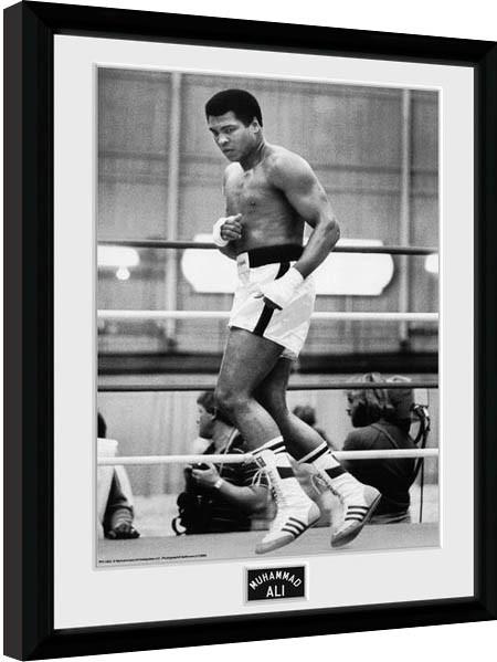 Muhammad Ali – Training 30x40cm Collector Print Ingelijste poster
