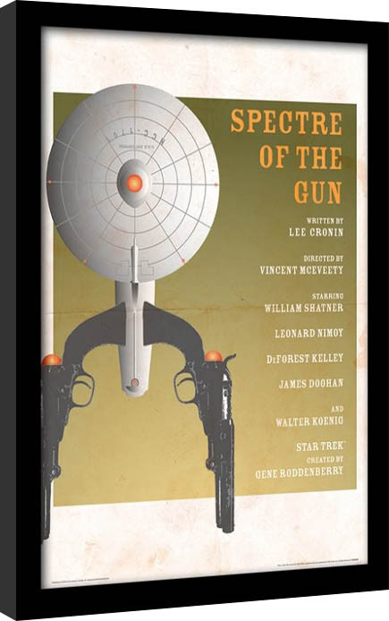 Star Trek - Spectre Of The Gun ingelijste poster met glas