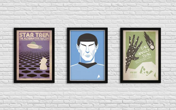 Star Trek - The Alternative Factor Ingelijste poster