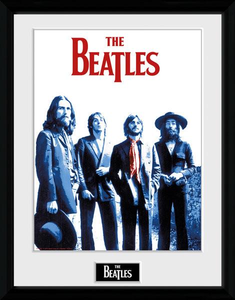The Beatles - Red Scarf Ingelijste poster
