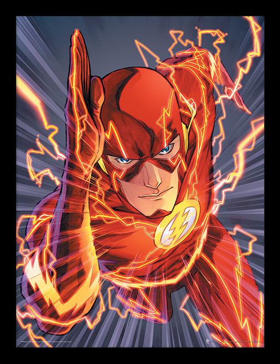 The Flash - Zoom Ingelijste poster