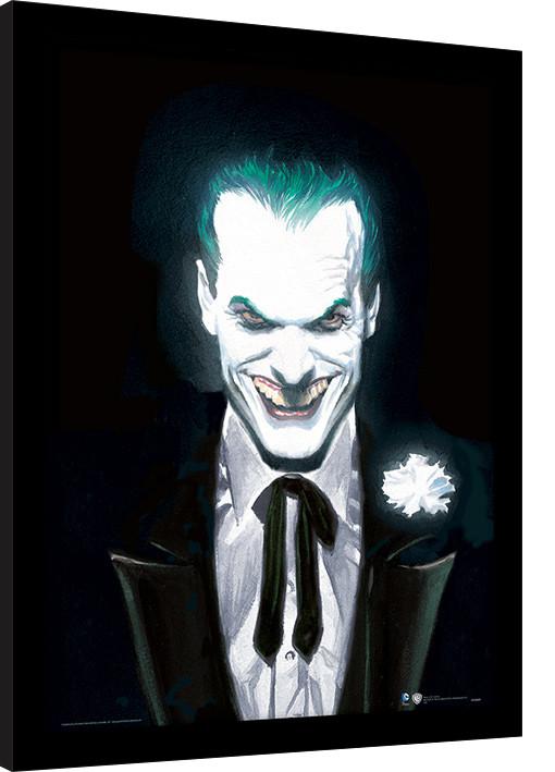 Dc Comics Joker Suited Innrammet Plakat Kjøp Hos Europostersno