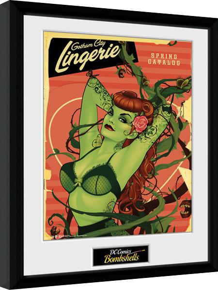 Dc Comics Poison Ivy Bombshells Innrammet Plakat Kjøp Hos Europostersno