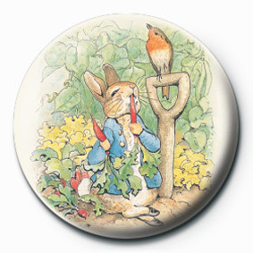 BEATRIX POTTER (PETER RABB Insignă