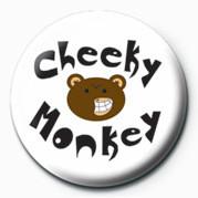 CHEEKY MONKEY Insignă