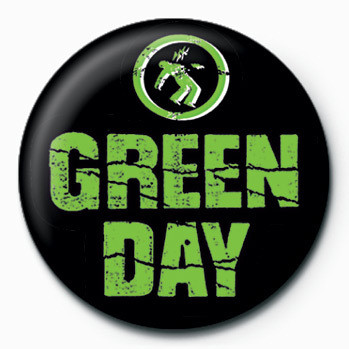 Green Day (Logo) Insignă