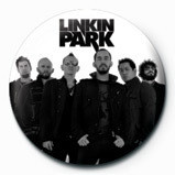 LINKIN PARK - group bw Insignă