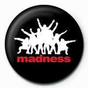 MADNESS - Black Insignă