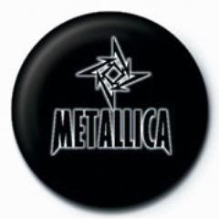 METALLICA - small star GB Insignă