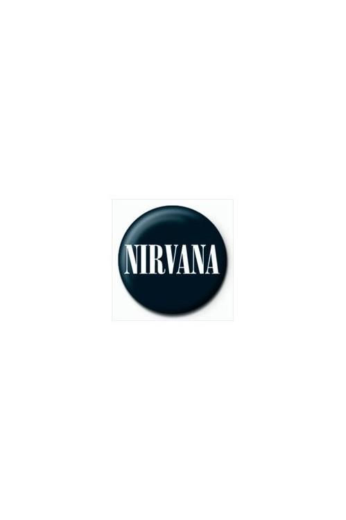 NIRVANA - logo Insignă