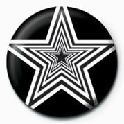 OP ART STARS Insignă