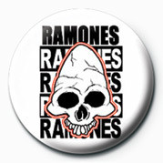 RAMONES (SKULL) Insignă