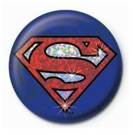 SUPERMAN - shield Insignă