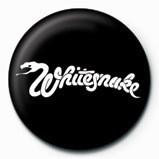 WHITESNAKE - logo Insignă