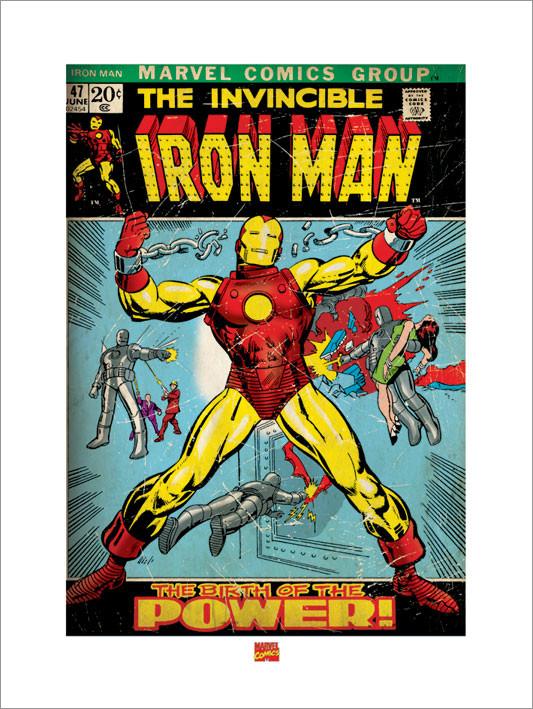 Iron Man  Festmény reprodukció