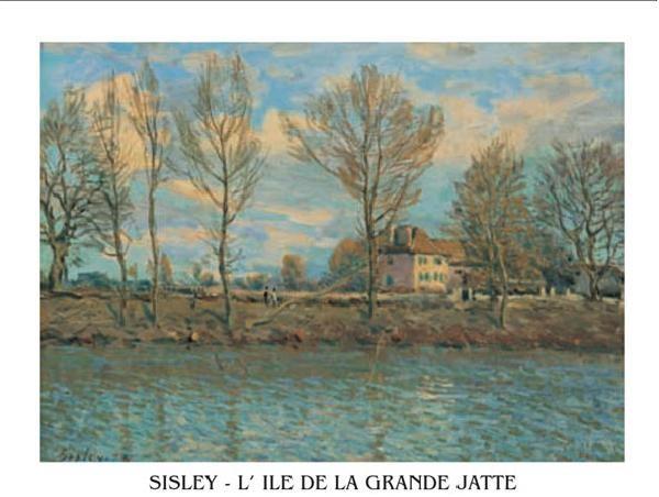 Island of La Grande Jatte Festmény reprodukció