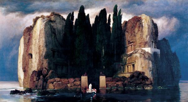 Isle of the Dead (Fifth version), 1886 kép reprodukció